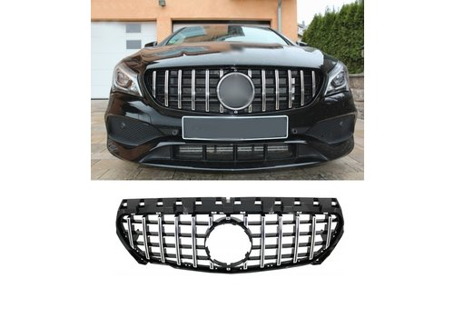 OEM LINE GT-R Panamericana Look Front Grill for Mercedes Benz CLA-Class W117 / C117 / X117