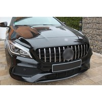 GT-R Panamericana Look Front Grill for Mercedes Benz CLA-Class W117 / C117