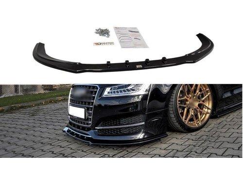 Maxton Design Front splitter for Audi S8 D4 Facelift