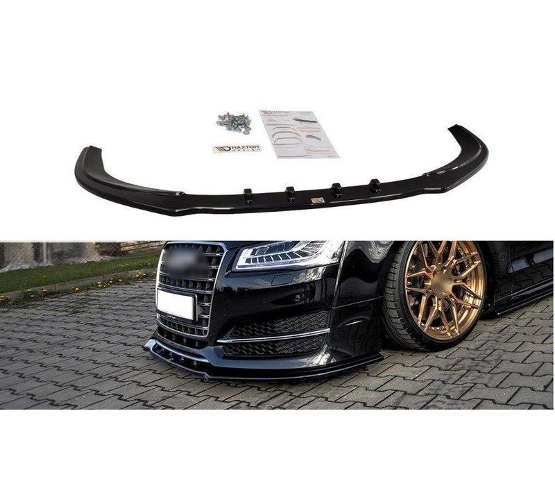 Front splitter für Audi S8 D4 Facelift