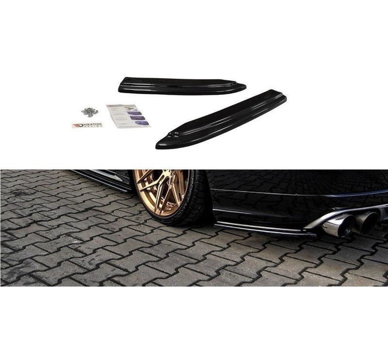 Rear splitter for Audi S8 D4 Facelift