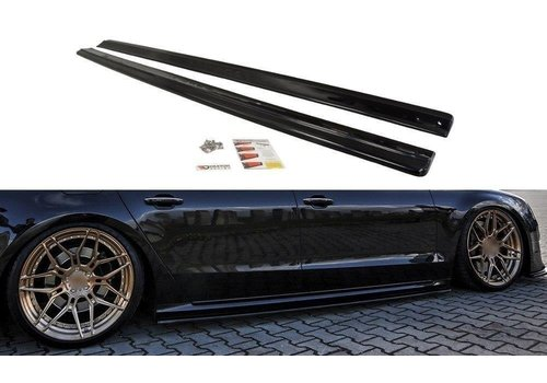 Maxton Design Side skirts Diffuser for Audi S8 D4 Facelift