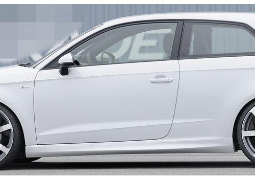 Rieger S line S3 RS3 Look Seitenschweller für Audi A3 8V Cabrio