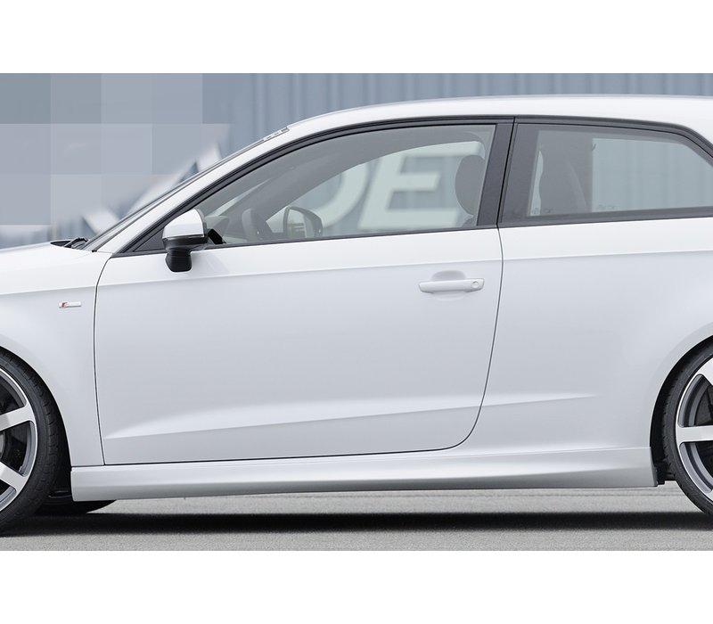 S line S3 RS3 Look Seitenschweller für Audi A3 8V Cabrio