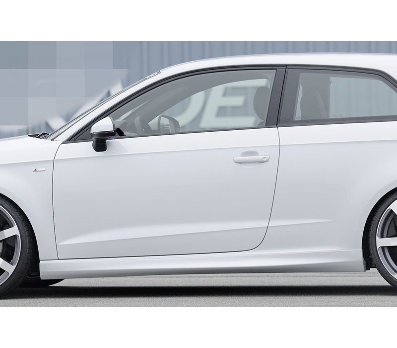 S line S3 RS3 Look Side Skirts voor Audi A3 8V Cabrio