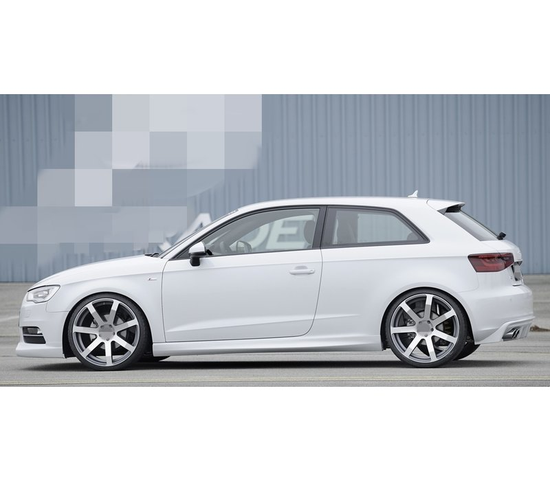S line S3 RS3 Look Side Skirts for Audi A3 8V Cabrio