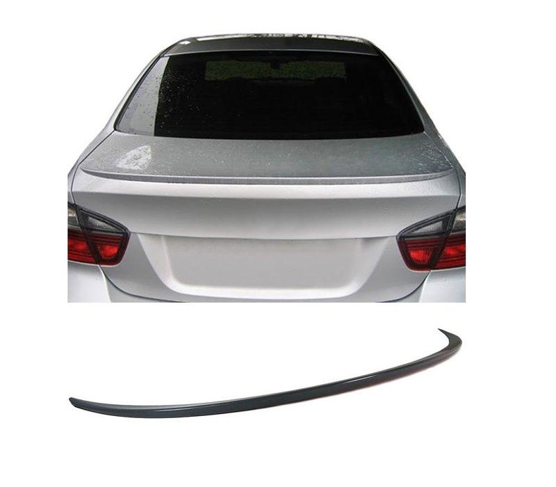 M3 Look Achterklep spoiler lip voor BMW 3 Serie E90