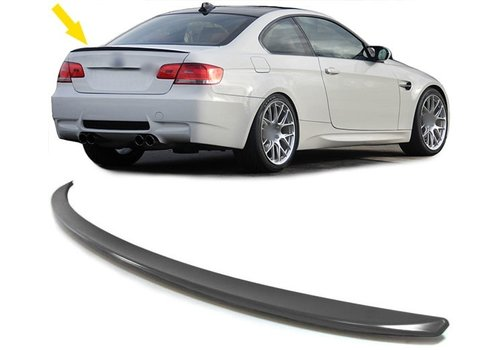 OEM LINE M3 Look Tailgate spoiler lip for BMW 3 Series E90