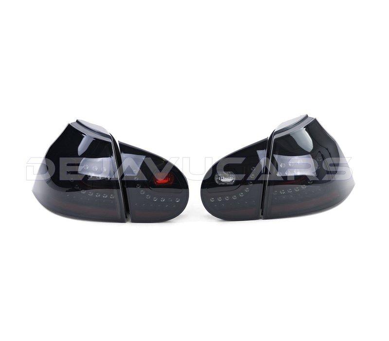 R20 / GTI Look LED Achterlichten voor Volkswagen Golf 5