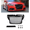 OEM LINE RS3  Look Front Grill High-gloss Black Edition for Audi A3 8P