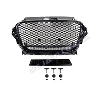 RS3 Quattro Look Front Grill voor Audi A3 8V