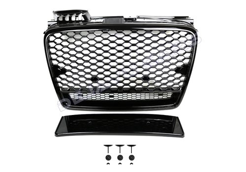 OEM LINE RS4 Look Front Grill voor Audi A4 B7