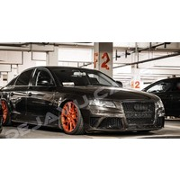 RS4 Look Kühlergrill Black Edition für Audi A4 B8