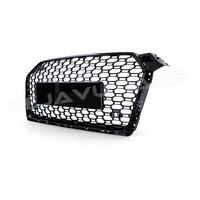 RS5 Look Front Grill Black Edition voor Audi A5 B9