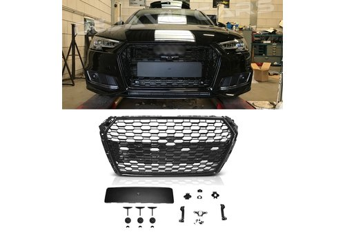OEM LINE RS4 Look Front Grill for Audi A4 B9