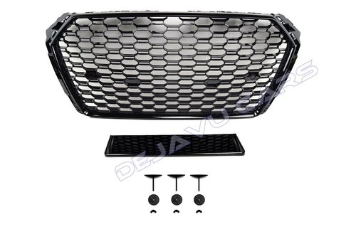 OEM LINE® RS4 Look Front Grill voor Audi A4 B9