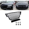 OEM LINE RS5 Look Front Grill Black Edition voor Audi A5 B8