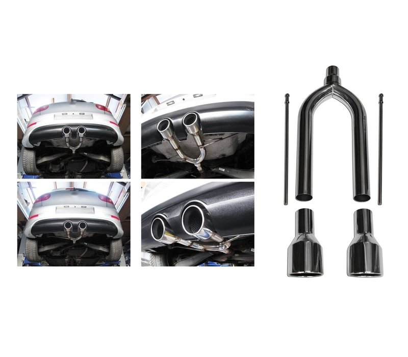 R32 R20 Look Sport Exhaust System V.2 for Volkswagen Golf 5 & Golf 6
