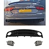 OEM LINE RS7 Look Diffuser + Exhaust tail pipes for Audi A7 4G S line / S7