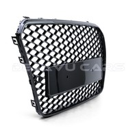 RS5 Look Front Grill Black Edition voor Audi A5 B8