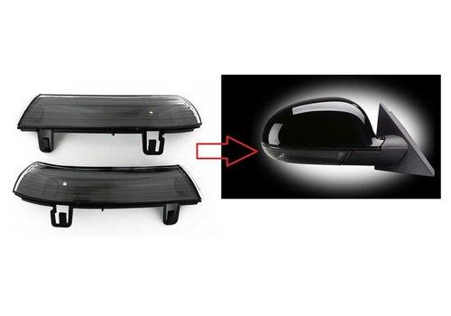 OEM LINE Black Edition Buitenspiegel LED Knipperlichten voor Volkswagen, Skoda & Seat