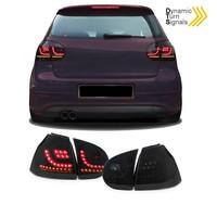R20 / GTI Look Dynamische LED Achterlichten voor Volkswagen Golf 5