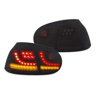 R20 / GTI Look Dynamic LED Tail Lights for Volkswagen Golf 5