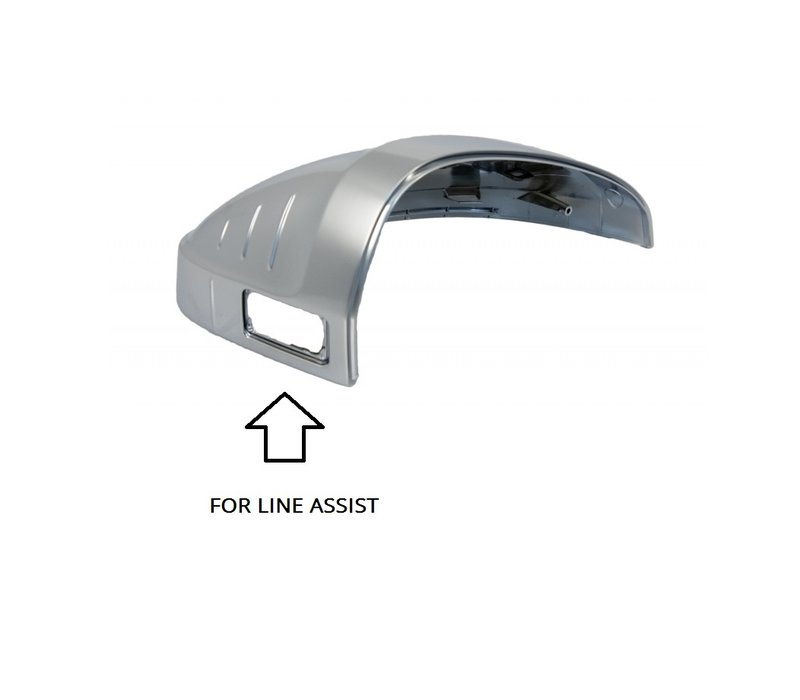 Matt Chrome Mirror Caps for Audi A4 B9 8W, S4, S line & A5 B9 F5, S5, S line