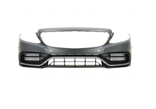 OEM LINE C63 AMG Look Front bumper for Mercedes Benz C-Class W205 Facelift