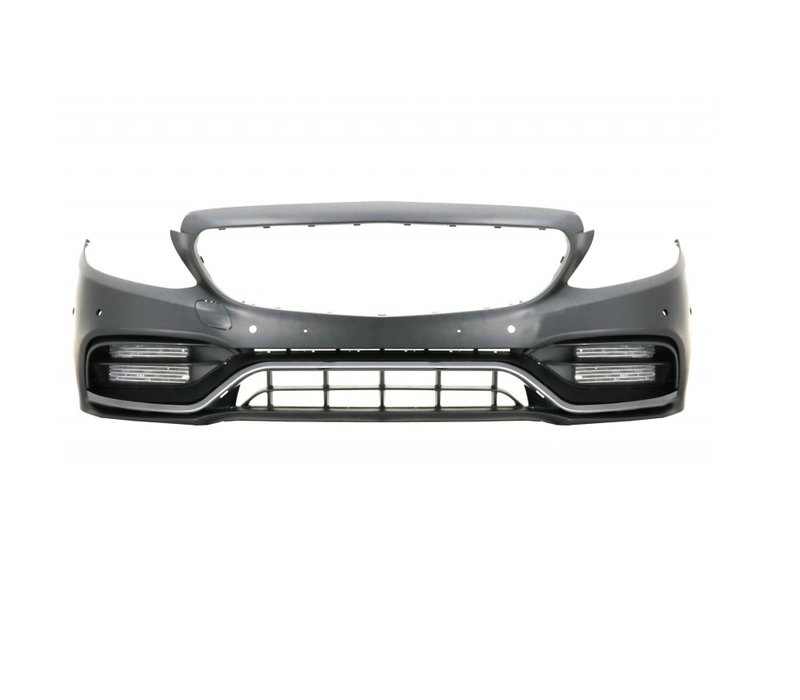 C63 AMG Look Voorbumper voor Mercedes Benz C-Klasse W205 Facelift