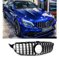 GT-R Panamericana Look Front Grill  for Mercedes Benz C-Class W205 Facelift