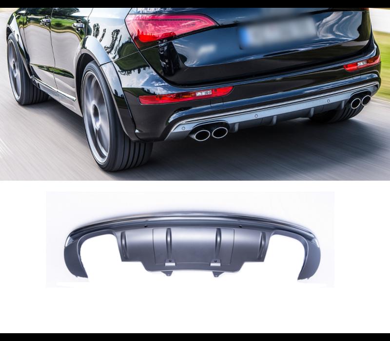 SQ5 Look Diffuser voor Audi Q5 8R S line / SQ5