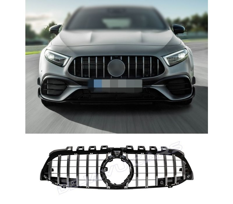 GT-R Panamericana Look Front Grill for Mercedes Benz A-Class W177 / V177