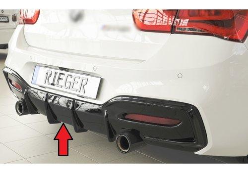 Rieger Diffuser for BMW 1 Serie F20 LCI / F21 LCI