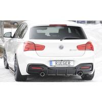 Diffuser for BMW 1 Serie F20 LCI / F21 LCI