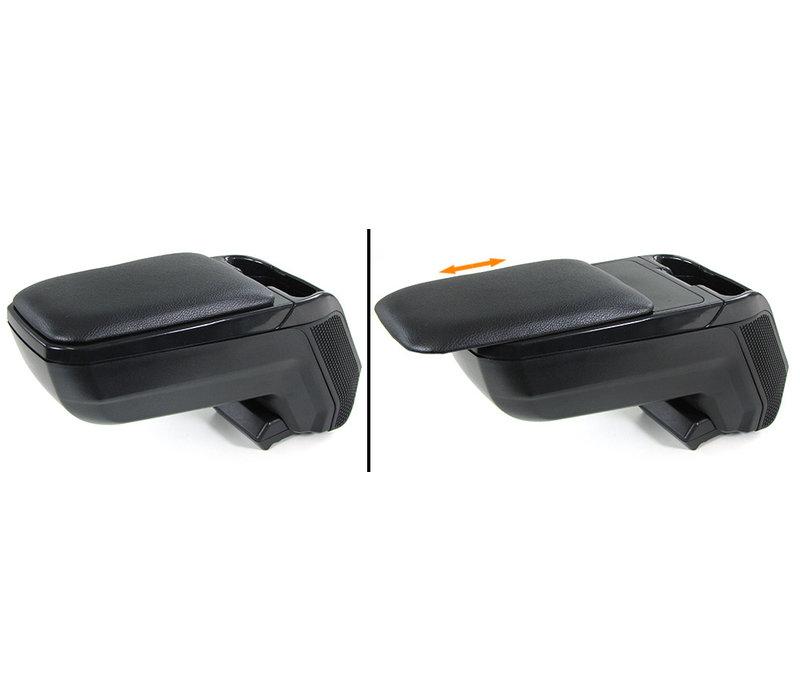 Mittelarmlehne Konsole verstellbar + Ablagefach für Volkswagen Polo 6R / 6C