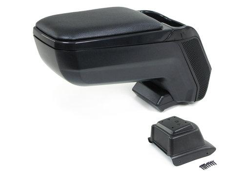 OEM LINE Center armrest console adjustable + storage compartment for Volkswagen Polo 6R / 6C