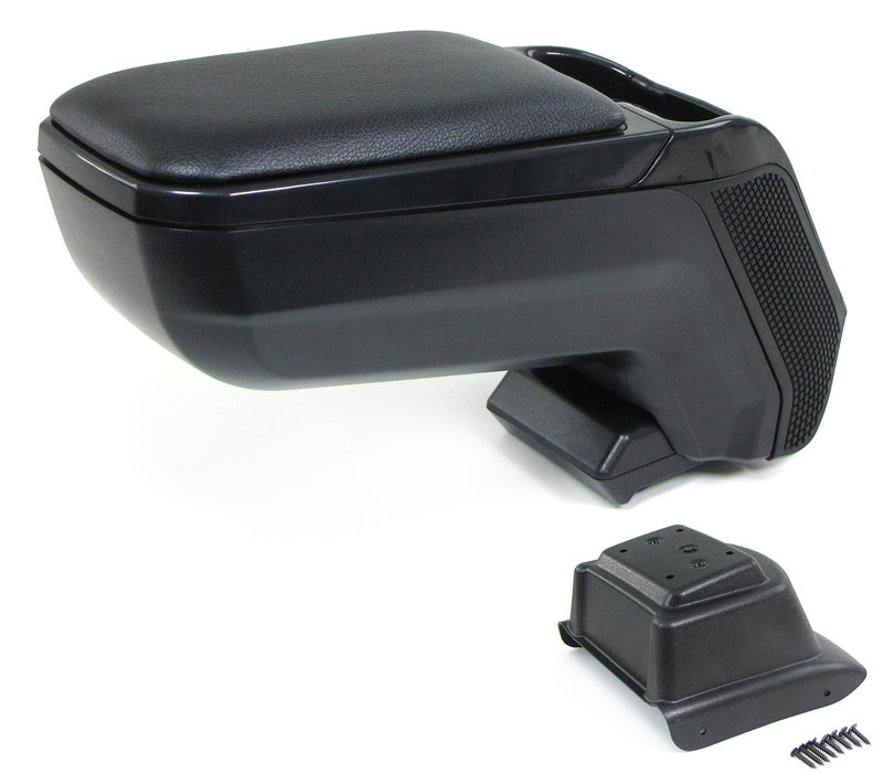 Center armrest console adjustable + storage compartment for Volkswagen Polo 6R / 6C