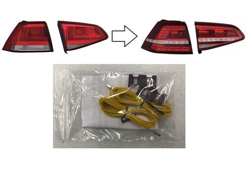 OEM LINE® Retrofit cable set for Volkswagen Golf 7 LED Tail Lights