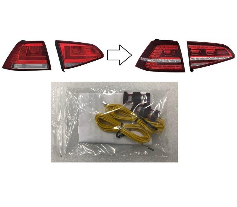 Nachrüst Kabel set für Volkswagen Golf 7 LED Rückleuchten