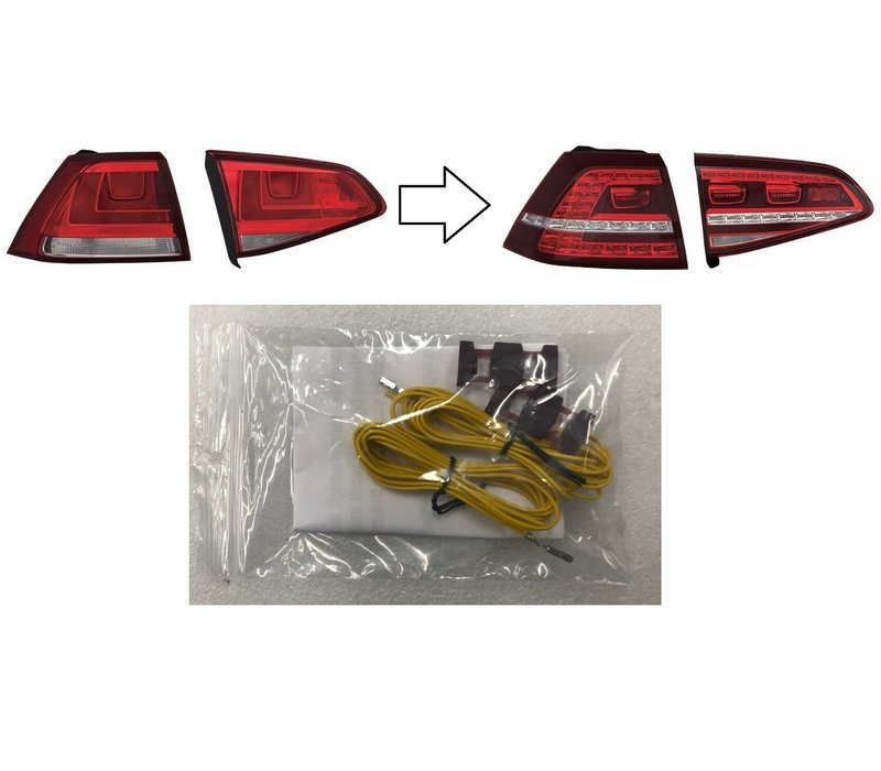 Retrofit cable set for Volkswagen Golf 7 LED Tail Lights