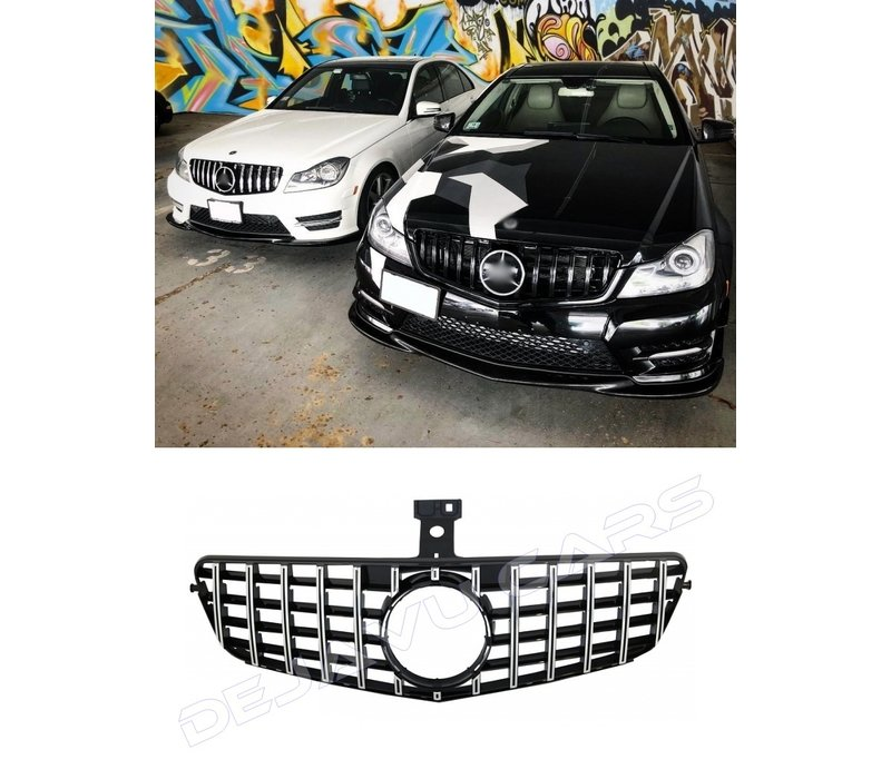GT-R Panamericana Look Front Grill for Mercedes Benz C-Class W204