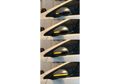 OEM LINE® Dynamic LED Side Mirror Turn Signal for Volkswagen Golf 7