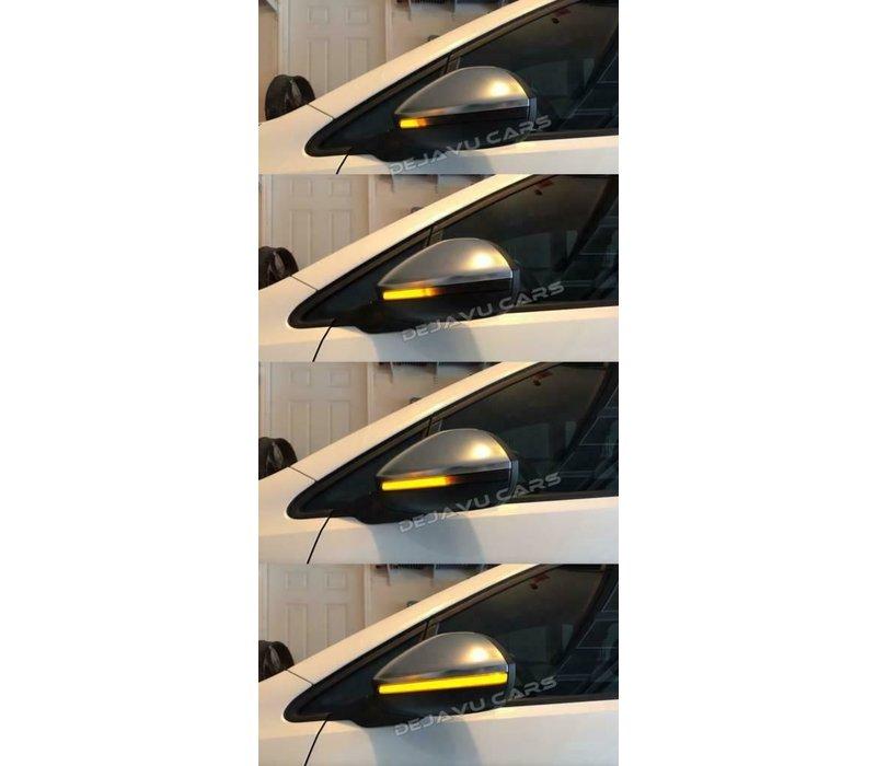 Dynamische LED Buitenspiegel Knipperlichten voor Volkswagen Golf 7