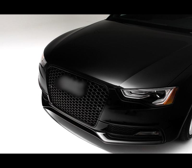 RS5 Look Kühlergrill Black Edition für Audi A5 B8