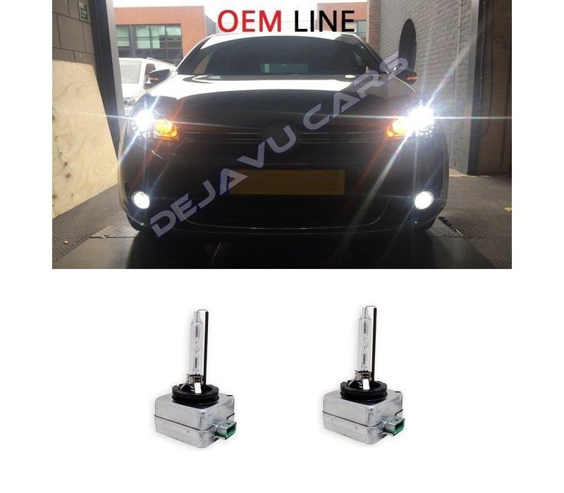 OEM LINE 6000K XENON LAMPEN - D1S D2S D3S