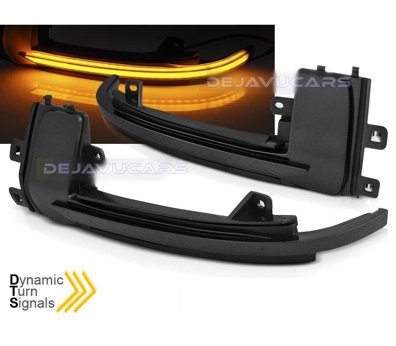 Dynamische LED Aussenspiegel Blinker für Audi A3 A4 A5 A6