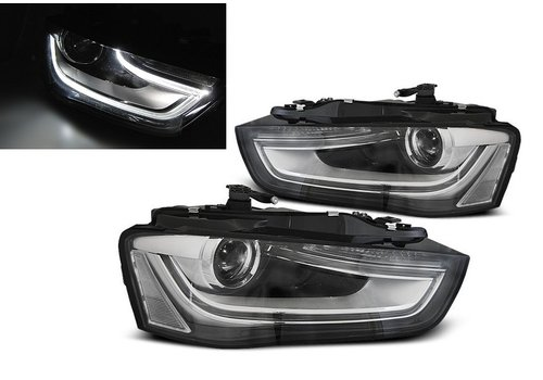 DEPO LED Koplampen Bi Xenon look voor Audi A4 B8.5