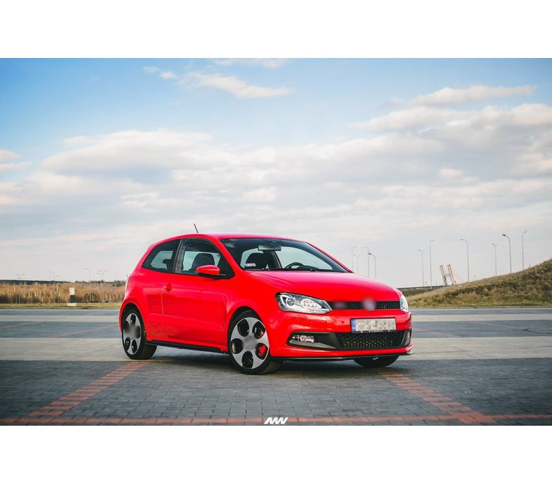 Side skirts Diffuser voor Volkswagen Polo 6R GTI