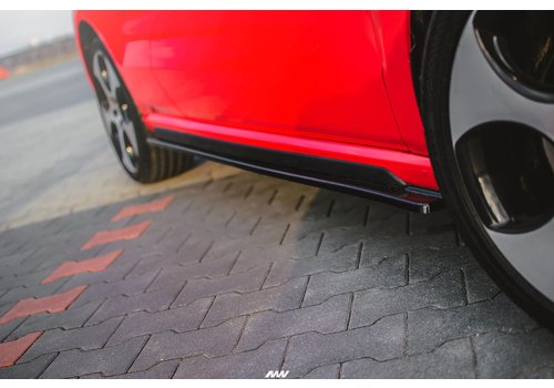 Maxton Design Seitenschweller Diffusor für Volkswagen Polo 6R GTI